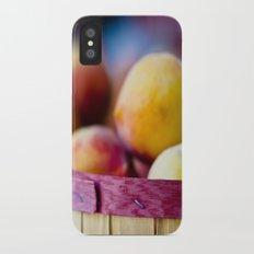 Oh, Peachy! iPhone X Slim Case