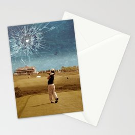 Broken Glass Sky Stationery Cards