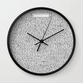 Securitee Wall Clock