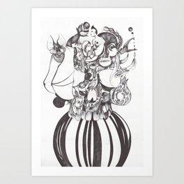 Universo Interior Art Print