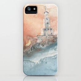 Storm at North Manitou Island Shoal iPhone Case