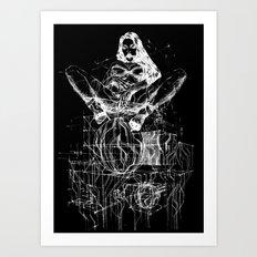 Passion & Tension. Invert Art Print