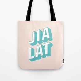 JIA LAT Tote Bag