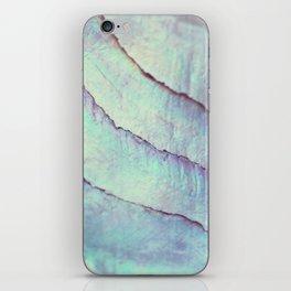 IRIDISCENT SEASHELL MINT by Monika Strigel iPhone Skin