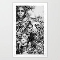The dreamscapes Art Print