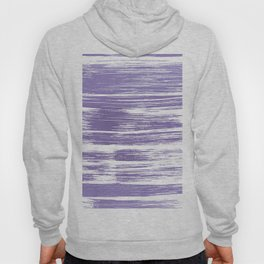 Modern abstract lilac lavender white watercolor brushstrokes Hoody