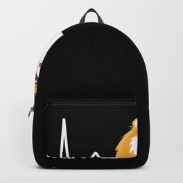 Funny cute Hamster Heartbeat Animal Gift Backpack