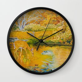 First Encounter Wall Clock