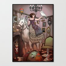 The Victorian Room Canvas Print