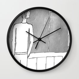 With or without you... Wall Clock
