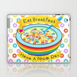 Eat Breakfast! Laptop & iPad Skin