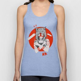 Lady of the Wild Unisex Tank Top