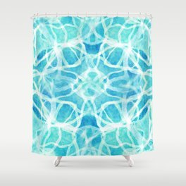 Drenched Shower Curtain