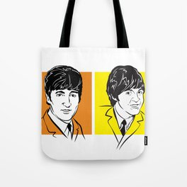 Face The Fab Four Tote Bag