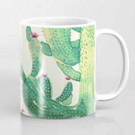 big green cactus Coffee Mug