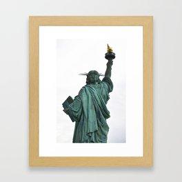 She Leads Us Framed Art Print