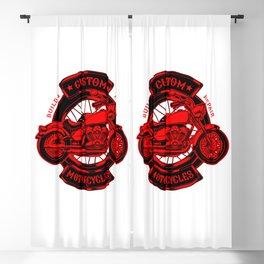Custom Motorcycle supply company Blackout Curtain