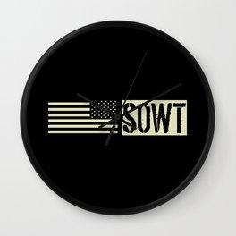 SOWT (Black Flag) Wall Clock