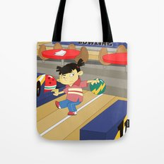 Non Olympic Sports: Bowling Tote Bag