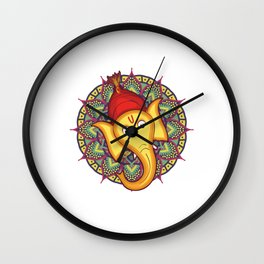 Ganesh Chaturthi for Kids Wall Clock