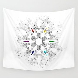 Ice Queen's Dust Wall Tapestry