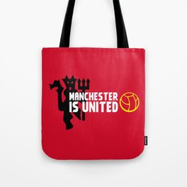 Manchester Is United Tote Bag