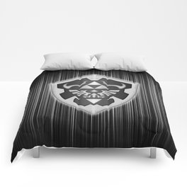 Zelda Black Shield Comforters