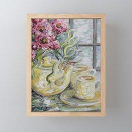 Morning Tea for Two Framed Mini Art Print