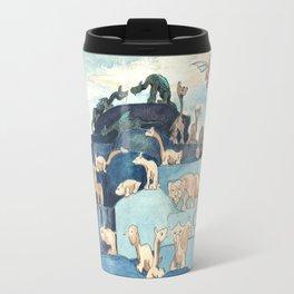 Fantastic Animals Left off the Ark by Herbert E Crowley Travel Mug