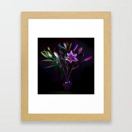 Multicolour Lilies Framed Art Print