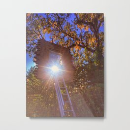 Window to Sunny Nowhere Metal Print