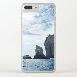 Cabo San Lucas Photography Print Clear iPhone Case