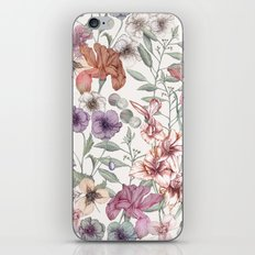 Magical Floral  iPhone & iPod Skin