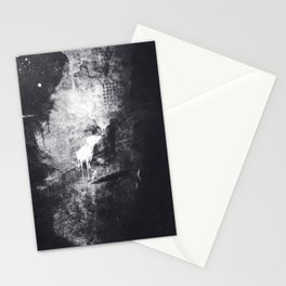 Deviative Condition Inside The Cloud Chamber Stationery Cards