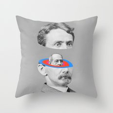 Thoughts In My Head Throw Pillow