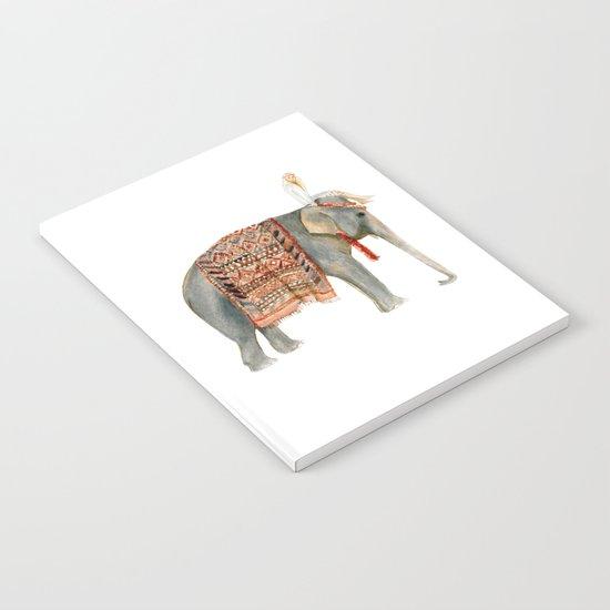 Elephant Ride Notebook