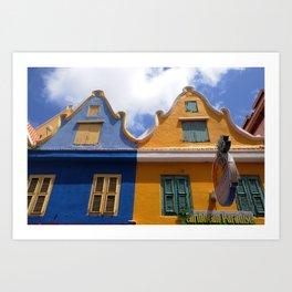 Netherland style house Art Print