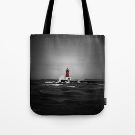 Lighthouse Glow Tote Bag