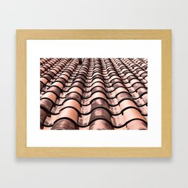 Miami Rooftop Framed Art Print