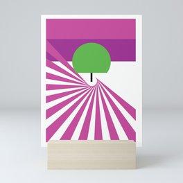 Fields Of Lavader Mini Art Print