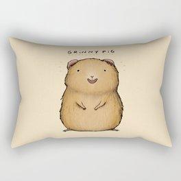 Grinny Pig Rectangular Pillow