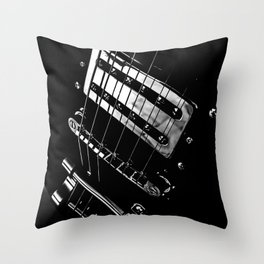 6 Strings Of Joy Throw Pillow