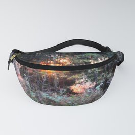 Sunset Forest : Where The Fairies Dwell Fanny Pack