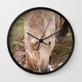 A refreshing drink Wall Clock