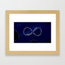 Hakuna Matata Infinite- The Lion King Framed Art Print