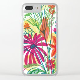 G.D.Flowers: Some Flowers, Dammit! Clear iPhone Case