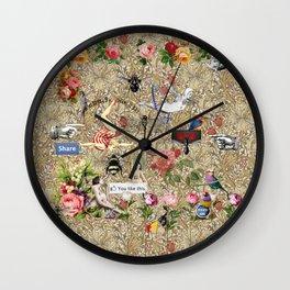 Through the Air Wall Clock
