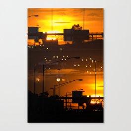 CREPUSULAR LIGHT Canvas Print