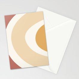 Mid Century Rainbow Stationery Cards