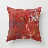calendars Throw Pillows featuring Haglaz - Runes Series by Fernando Vieira